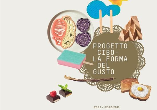 Progetto Cibo_La forma del Gusto
