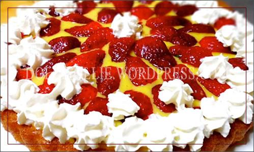 Torta Fragole Panna#1